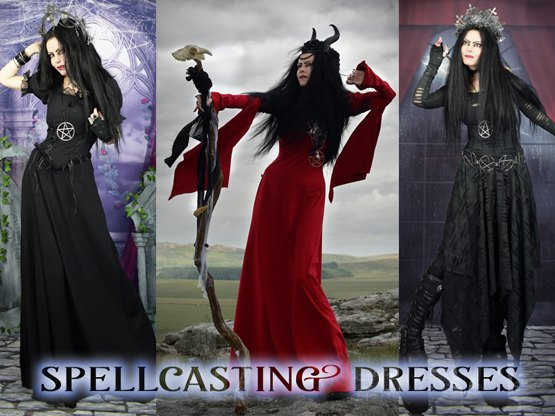 Creepy!  Kooky!  Mysterious AND Spooky!  Our *ultimate* Morticia Gown... so far!!