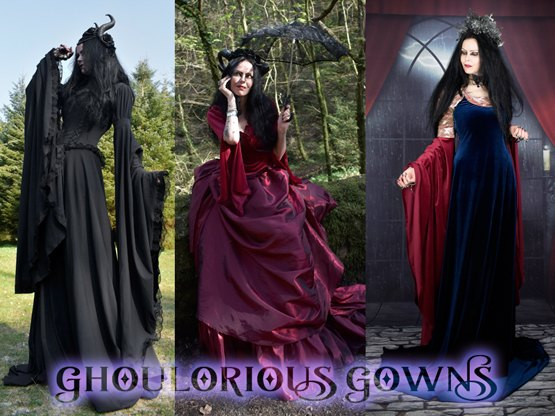 Our beautiful range of long skirts; from steampunk awesomeness to the wonderfully witchy!