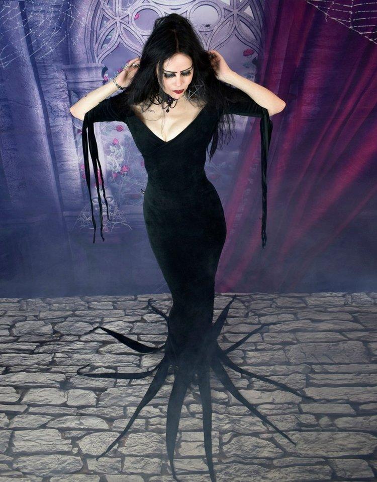 Vampira Dress Maila Nurmi Cosplay Halloween Costume By