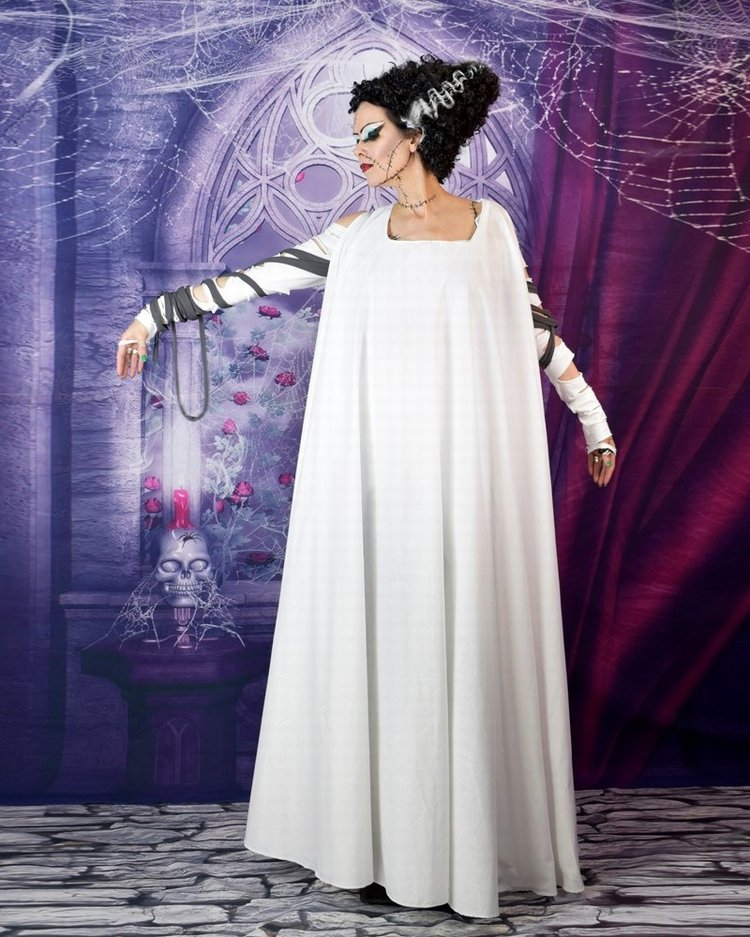 Bride Of Frankenstein Gown 8000 Gothic Clothing By Moonmaiden