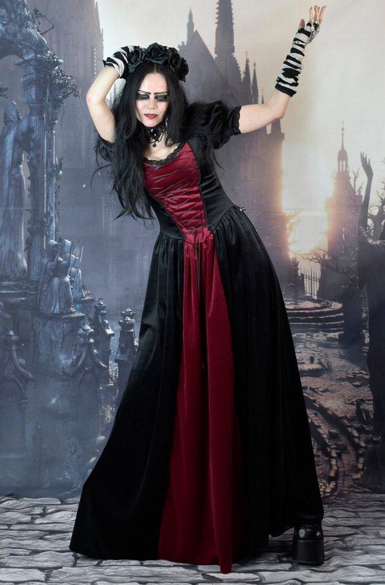 Wyntersyren Dress Bloodborne Inspired Medieval Gothic