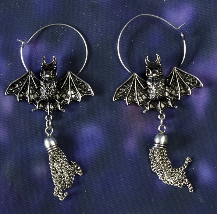 847b3ef61 Restyle Oriental Bat Earrings - SALE £10.62 - Gothic Clothing by Moonmaiden