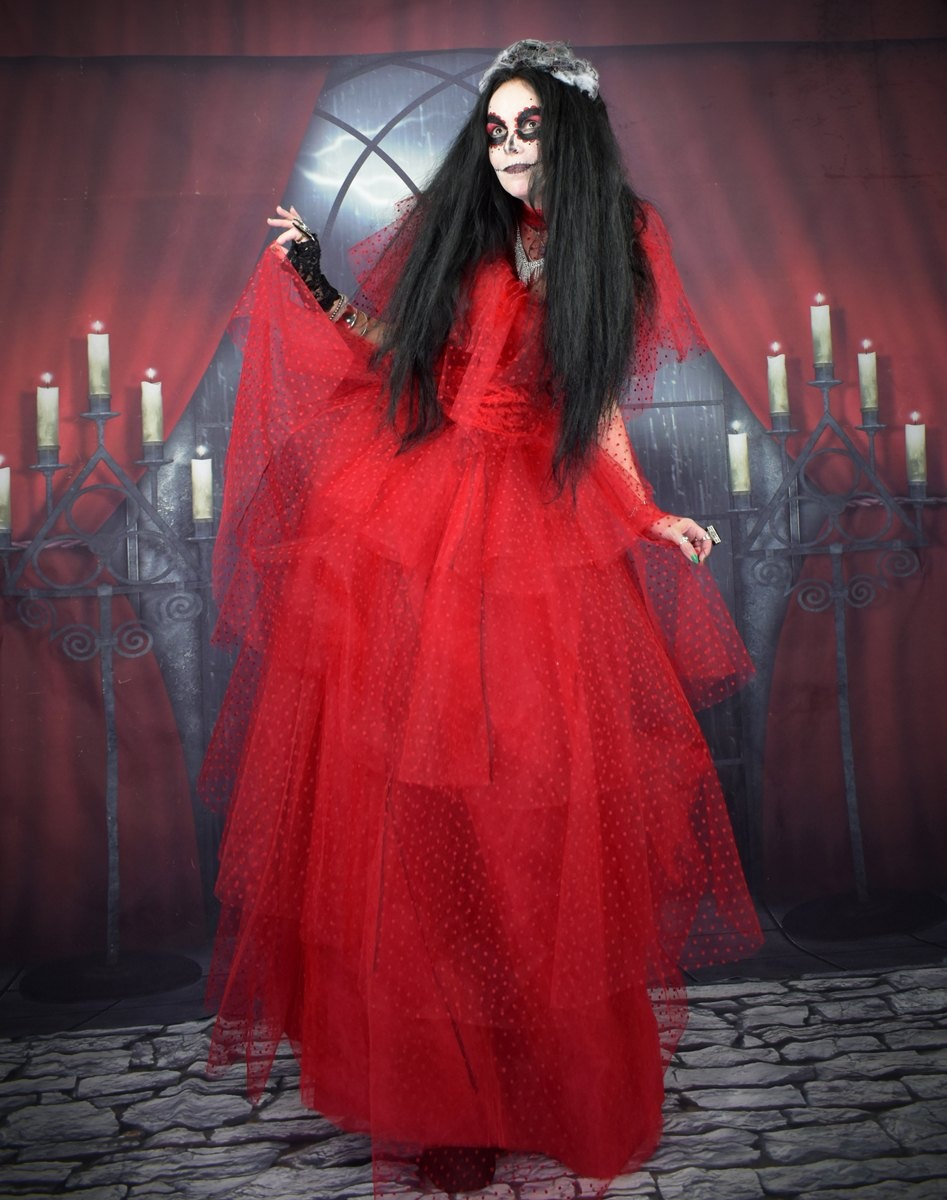 The Beetlejuice Lydia Deetz Gown Halloween Cosplay Wedding Dress By Moonmaiden Gothic Clothing