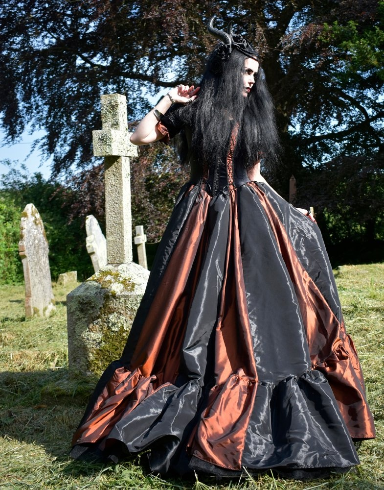 The Charlotte Dymond Gown - steampunk ballgown by Moonmaiden Gothic ...