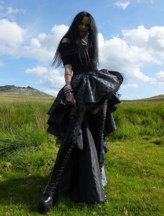 Nameless Gown , Gowns , Moonmaiden Gothic Clothing