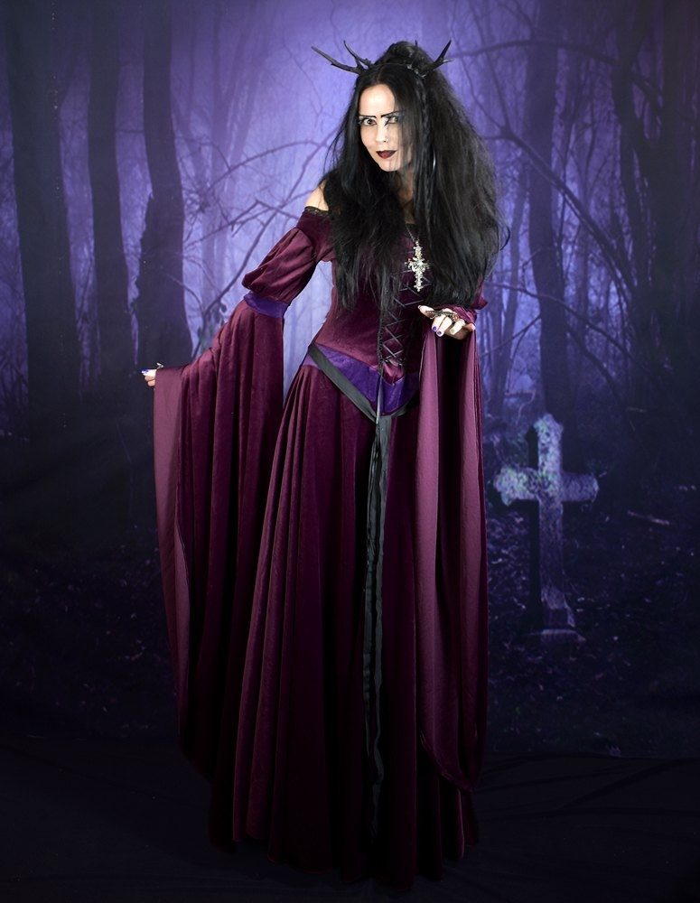 Guinevere Gown £110.00 - Gothic Clothing by MoonMaiden