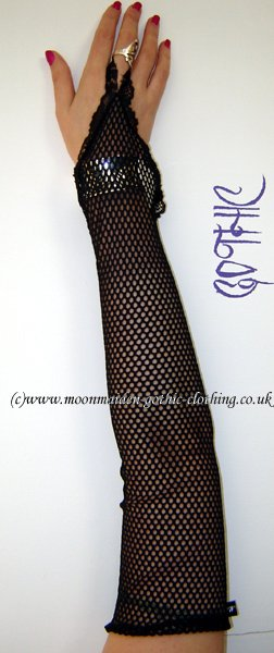 Handless Fishnet Gloves