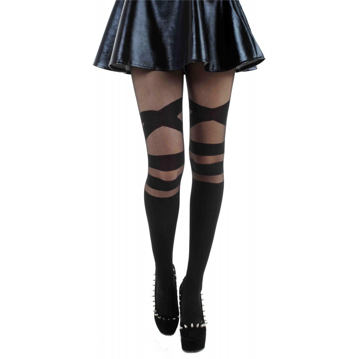 V Strap Sheer Tights - SALE