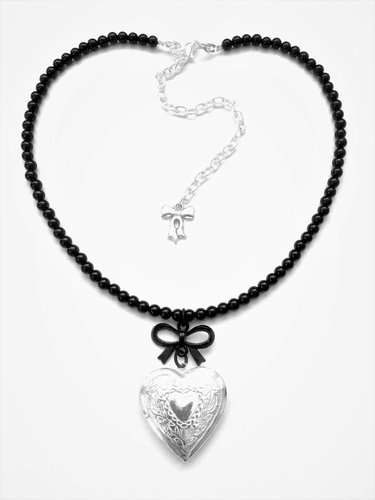 The Secret In My Heart  Romantic gothic necklace