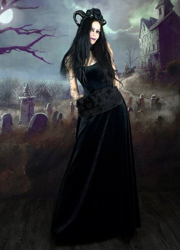Countess Morgana Strapular Dress