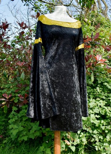 Custom Velvet Arwen Requiem Minidress