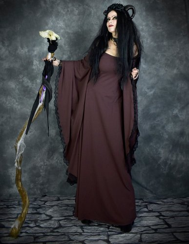 Crymaria Wynter Witch Gown