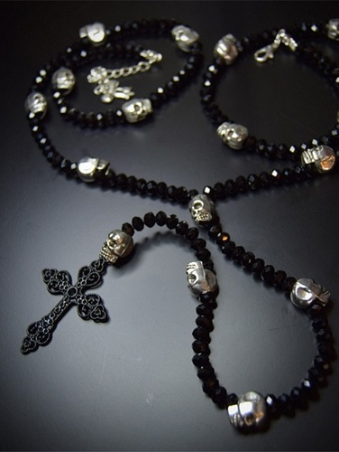 My Beautiful Gothic Long Rosary Necklace