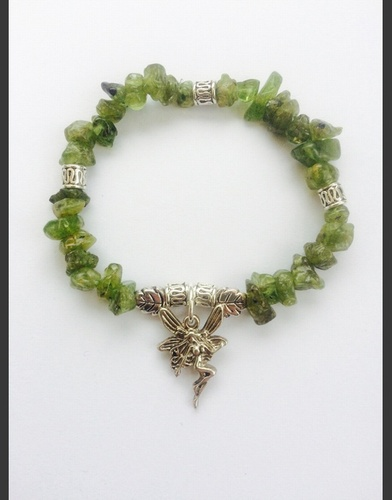 My Beautiful Gothic Peridot & Faerie bracelet