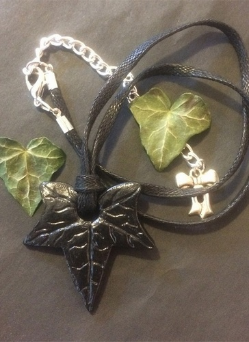 My Beautiful Gothic Ivy In The Shadows Necklace