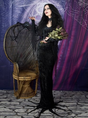 Morticia Addams Dress