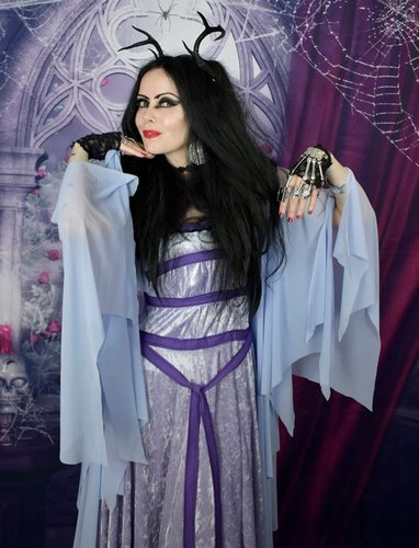 Lily Munster Gown