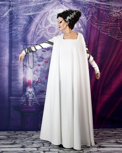 Bride of Frankenstein Gown