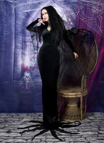 Moonshadow Morticia Dress