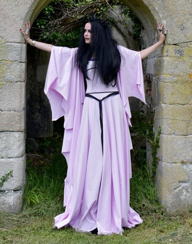 Lily Munster Deluxe Gown