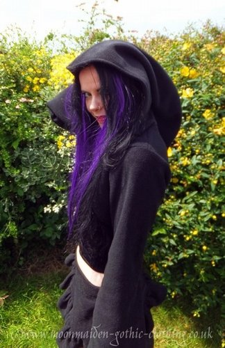 Snugglegoth Fleece Hooded Bolero