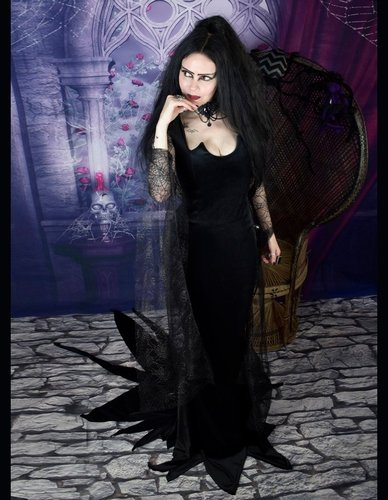 Morticia Ellie Gown