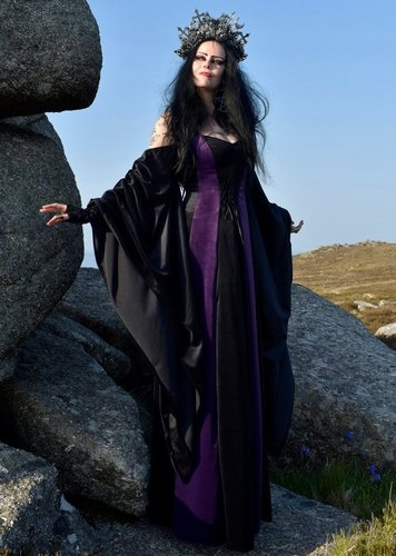 Wiccan High Priestess Gown