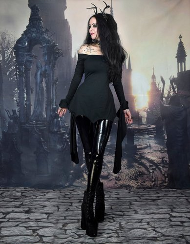 Darkraven Tunic Top